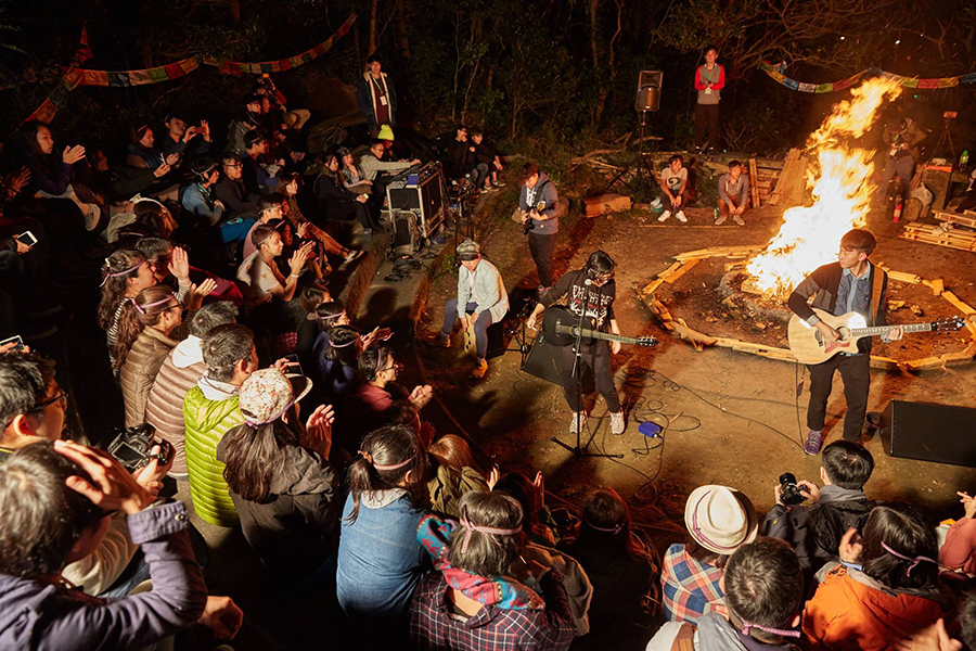 campfire stage.